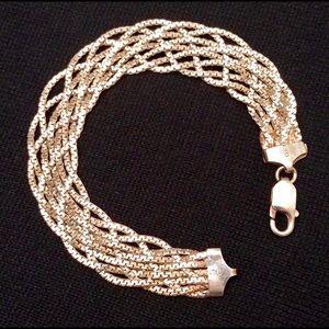 Jewelry - Sterling Seven-Strand Bracelet